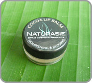 Lip balm with Bali organic cocoa butter