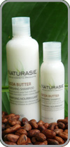 Shampoo with Bali organic cocoa butter